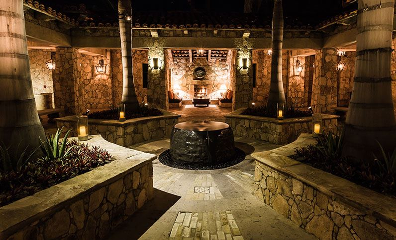 Hacienda Beach Club And Residences Cabo San Lucas Hotel Interior At Night2